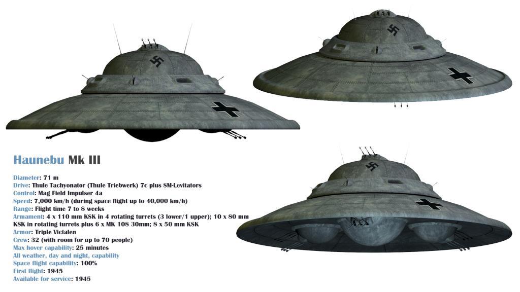 """二战科技---纳粹德国飞碟""""别隆采圆盘"""" - 万花飞落 - 万花飞落"""
