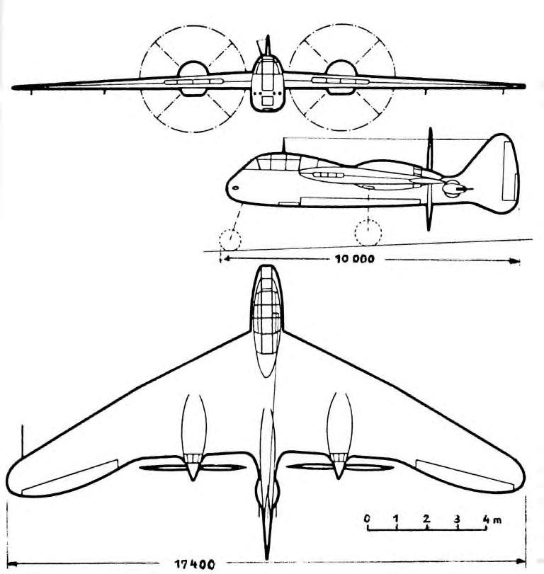 Messerschmitt Me 265 | World of Warplanes