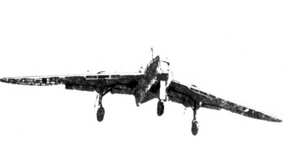 Messerschmitt Me 265 Luft '46 entry